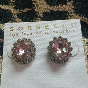 Pale Pink Studs, Sorrelli,  NWT